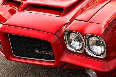 1972 Pontiac Gto Original by Gordon Dean II