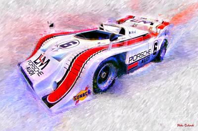 Photograph - 1972 Porsche 917 George Follmer by Blake Richards