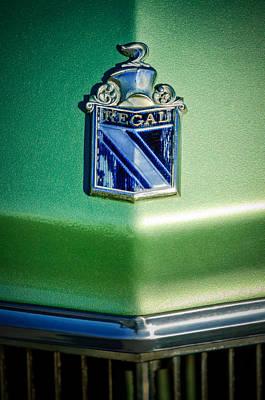 1973 Buick Regal Hood Ornament Art Print by Jill Reger