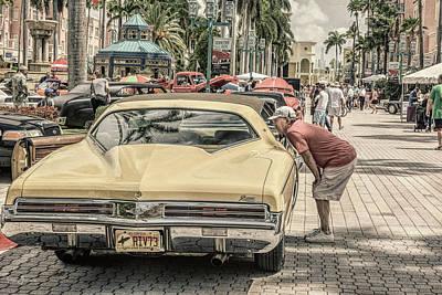1973 Buick Riviera Art Print