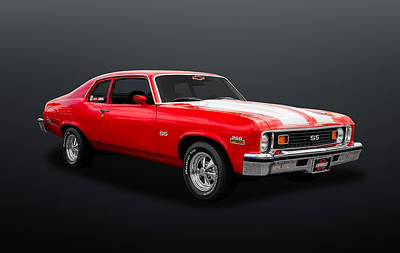 Photograph - 1973 Chevrolet Nova Super Sport  -  73chnov01 by Frank J Benz