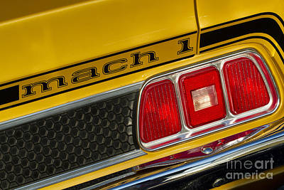 Photograph - 1973 Mustang Mach 1 by Dennis Hedberg
