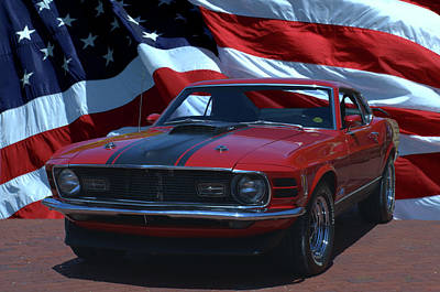 Mach I Photograph - 1970 Mustang Mach I by Tim McCullough