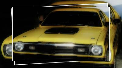 Photograph - 1973 Plymouth Duster by Sherman Perry