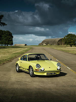 Photograph - 1973 Porsche 2.7 Rs by George Williams