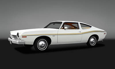 Photograph - 1974 Amc Matador 2 Door Coupe  -  1974amcmatador2drcpegry173568 by Frank J Benz
