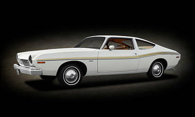 Photograph - 1974 Amc Matador 2 Door Coupe  -  1974amcmatadorcoupespttext173568 by Frank J Benz