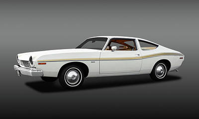 Photograph - 1974 Amc Matador 2 Door Coupe  -  1974amcmatadorcpefa173568 by Frank J Benz