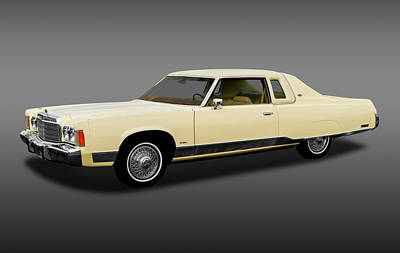 Photograph - 1974 Chrysler New Yorker Brougham  -  1974chryslernewyorkerfa170856 by Frank J Benz