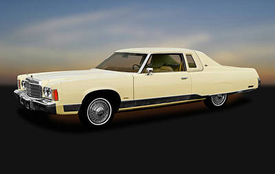 Photograph - 1974 Chrysler New Yorker Brougham  -  1974chryslerny2drhdtp170856 by Frank J Benz