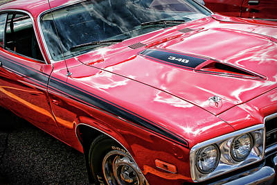 Photograph - 1974 Plymouth Road Runner 340 by Gordon Dean II