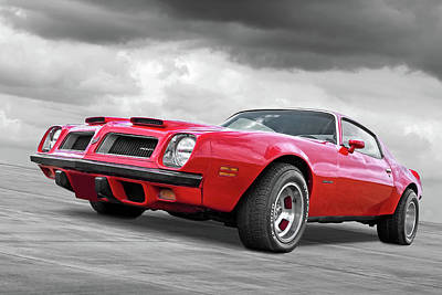 Photograph - 1974 Pontiac Firebird Formula 400 by Gill Billington