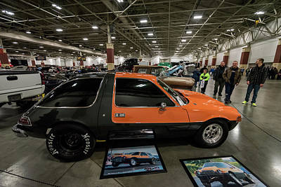 Photograph - 1975 Amc Pacer by Randy Scherkenbach