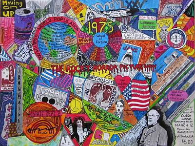 Mixed Media - 1975 by David Sutter