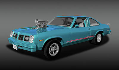 Photograph - 1975 Pontiac Ventura  -  1975pontiacventurafa170502 by Frank J Benz