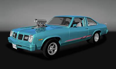 Photograph - 1975 Pontiac Ventura  -  1975pontiacventuragry170502 by Frank J Benz