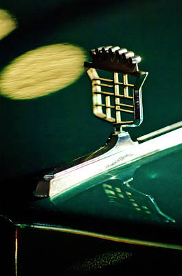 Hoodie Photograph - 1976 Cadillac Fleetwood Hood Ornament by Jill Reger