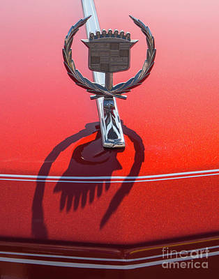 Photograph - 1976 Cadillac Hood Ornament by Kevin McCarthy