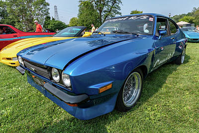 Photograph - 1976 Ford Capri R/s by Randy Scherkenbach