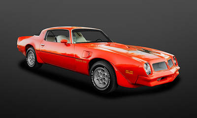 Photograph - 1976 Pontiac Firebird Trans Am   -   76pontam089 by Frank J Benz
