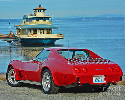 Photograph - 1977 Corvette by Jack Moskovita
