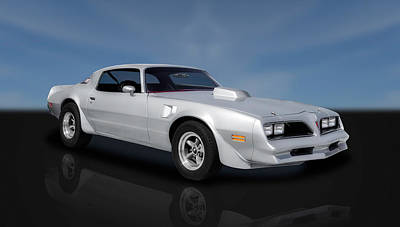Photograph - 1977 Pontiac Firebird  -  77pont22 by Frank J Benz