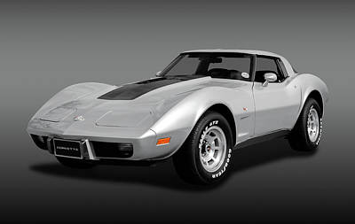 Photograph - 1978 C3 Chevrolet Corvette Stingray Coupe   -  1978c3chevyvettefa170766 by Frank J Benz