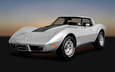 Photograph - 1978 C3 Chevrolet Corvette Stingray Coupe  -  1978c3corvettestingray170766 by Frank J Benz