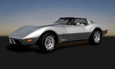 Photograph - 1978 C3 L82 Chevrolet Corvette Stingray Coupe  -  1978chevyl82corvette173406 by Frank J Benz