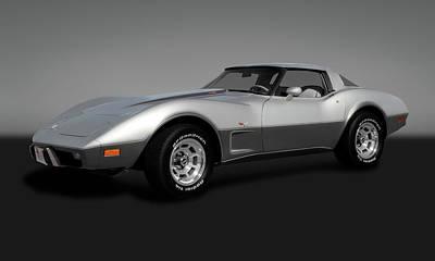 Photograph - 1978 C3 L82 Chevrolet Corvette Stingray Coupe  -   1978l82chevycorvettegry173406 by Frank J Benz