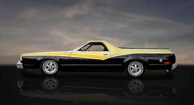 Photograph - 1978 Ford Ranchero  -  Fd1 by Frank J Benz