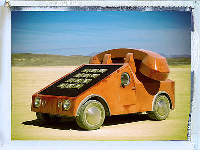 Photograph - 1978 Mobile Phone Concept by Dominic Piperata