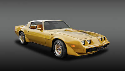 Photograph - 1979 Pontiac Firebird Trans Am   -  1979ponttafa6316 by Frank J Benz