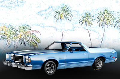 Farm House Style - 1979 Ranchero GT 7th Generation 1977-1979 by Chas Sinklier