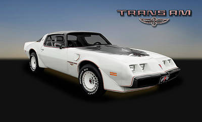 Photograph - 1980 Pontiac Firebird Trans Am  -  1980transam_2_153799 by Frank J Benz