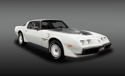 Photograph - 1980 Pontiac Firebird Trans Am  -  1980transamfa_5_153799 by Frank J Benz
