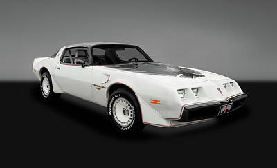 Photograph - 1980 Pontiac Firebird Trans Am  -  1980transamgry_3_153799 by Frank J Benz