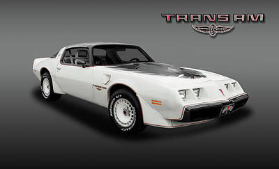 Photograph - 1980 Pontiac Firebird Trans Am  -  80transamfa_6_153799 by Frank J Benz