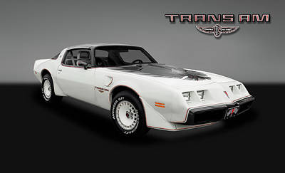Photograph - 1980 Pontiac Firebird Trans Am  -  80transamgry_4_153799 by Frank J Benz