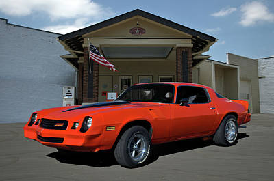 Photograph - 1981 Camaro Z28 by Tim McCullough
