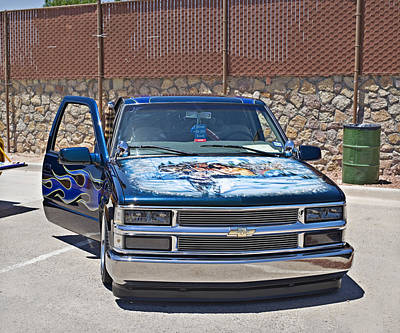 Photograph - 1981 Chevy Pick Up_2a by Walter Herrit