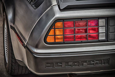 Photograph - 1981 Delorean by James Woody