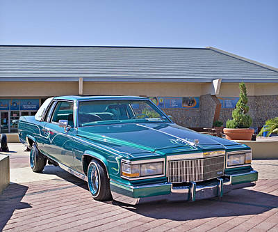 Photograph - 1982 Cadillac Coupe Deville_1a by Walter Herrit