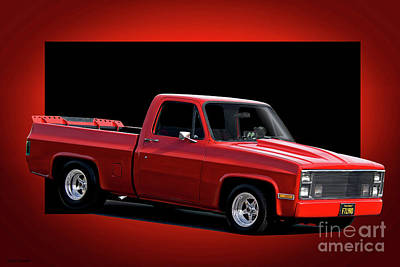 Photograph - 1983 Chevrolet C10 Fleetside Pickup 'hottie Hauler' II by Dave Koontz