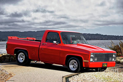 Photograph - 1983 Chevrolet C10 Fleetside Pickup 'hottie Hauler' IIi by Dave Koontz