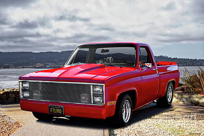 Photograph - 1983 Chevrolet C10 Pickup 'hottie Hauler' by Dave Koontz