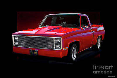 Photograph - 1983 Chevrolet C10 Pickup 'hottie Hauler' Vi by Dave Koontz
