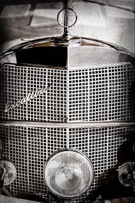 1984 Photograph - 1984 Excalibur Phaeton Grille Emblem - Hood Ornament-0900ac by Jill Reger