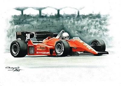 1984  Ferrari 126c4 Original by Artem Oleynik