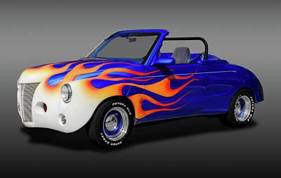 Photograph - 1985 Chevy S-10 Blazer - 1940 Caroselli Roadster  -  85s10carosellirdstrfa170808 by Frank J Benz